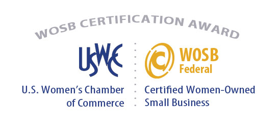 WOSB Certification Award Recognition WEB Small